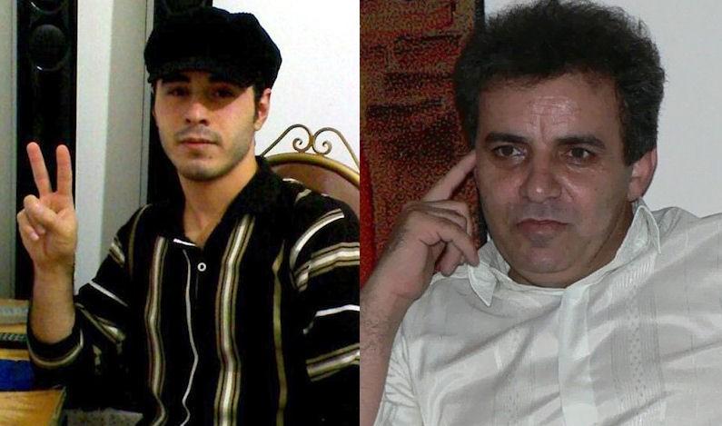 A sinistra Hossein Ronaghi Maleki, a destra Mohammad Sedigh Kaboudvand