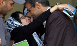 Nasrin Sotoudeh e suo marito Reza Khandan
