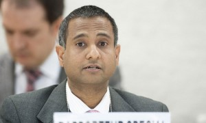 Ahmed Shaeed, Relatore speciale Onu sulla situazione dei diritti umani in Iran