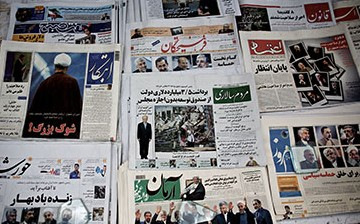 IRAN-VOTE-ELECTION-PRESS