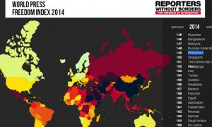 world press freedom index 2014