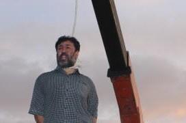 Impiccagione pubblica di Mansour Mirlouhi
