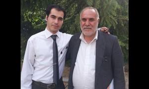 Hossein Ronaghi Maleki e suo padre Seid Ahmad