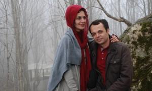 Bahareh Hedayat e suo marito Amin Ahmadian