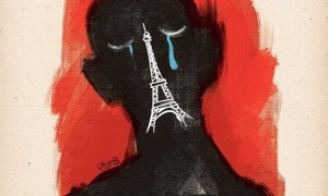 Hadi Heidari per gli attentati di Parigi