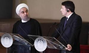 Italian President Rouhani in Italy